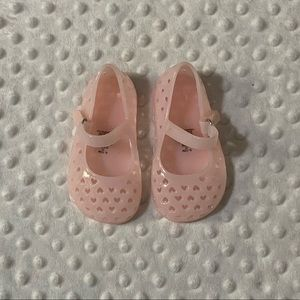 Old Navy Infant's Perforated Heart Jelly Maryjane